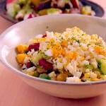お豆ときゅうりとゆで卵のサラダ