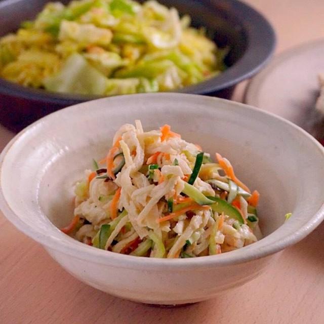 煮ものだけじゃない!ポリポリ食感がおいしい切り干し大根のサラダのつくり方