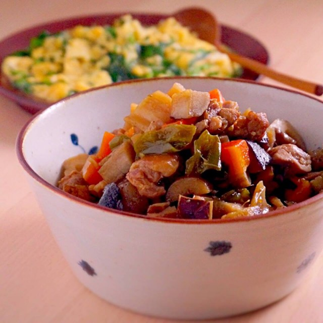 コロコロお野菜と鶏肉の煮もの