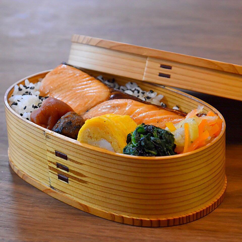 毎日ときどきお弁当memoと【鮭のしょう油焼きのつくり方】