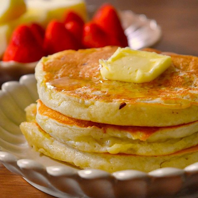 卵なしのバナナパンケーキ