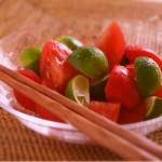 さわやかな香りと酸味の相性が抜群!フルーツトマトすだち