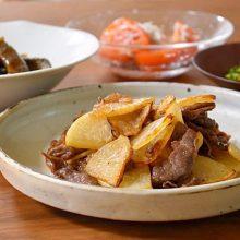 ご飯がすすむ!牛肉と大根の甘辛炒め