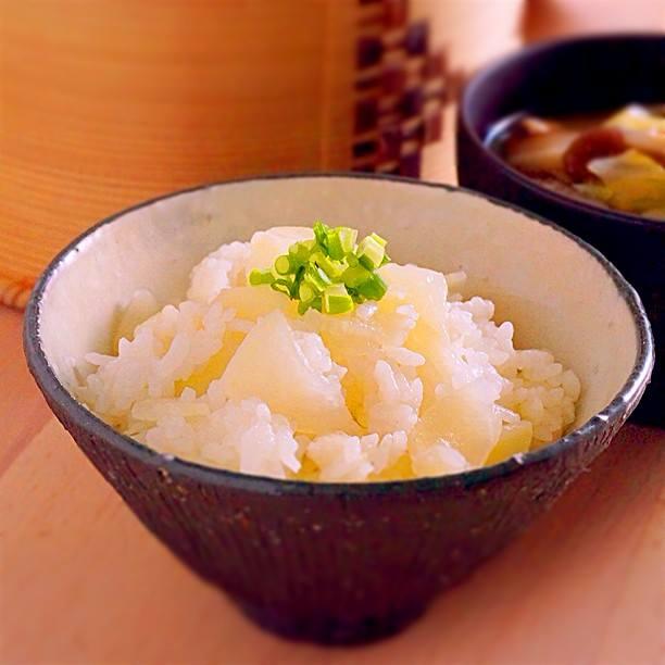 素朴な味のシンプル炊き込みごはん、大根ごはんのつくり方