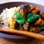 お野菜たっぷり中華風ドライカレー