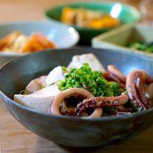 するめいかと豆腐のサッと煮
