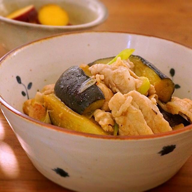 トロトロなすと豚肉の生姜焼き