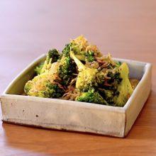 【常備菜にもなる、ささっと一品ちいさなおかず】ブロッコリーとじゃこの炒めもの