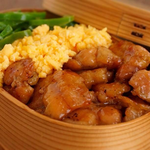 2014/5/2 毎日ときどきお弁当memoと【15分でできる!鶏照り焼きの3色弁当のつくり方】