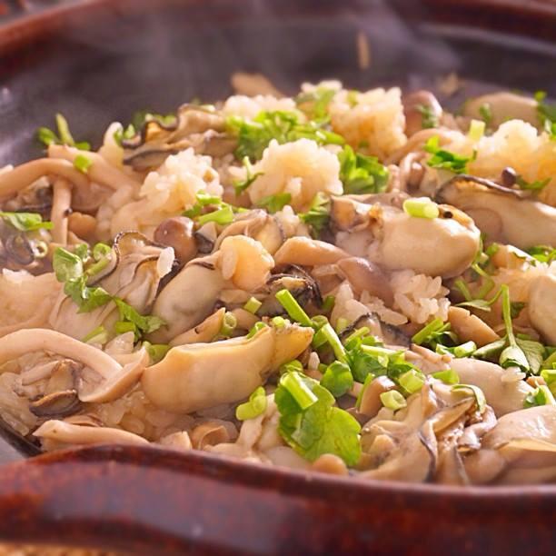 牡蠣 ご飯 レシピ 人気