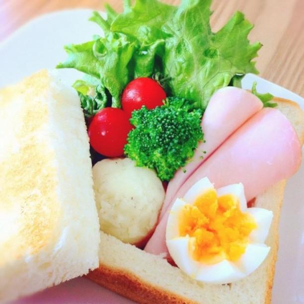 食パンお弁当箱2